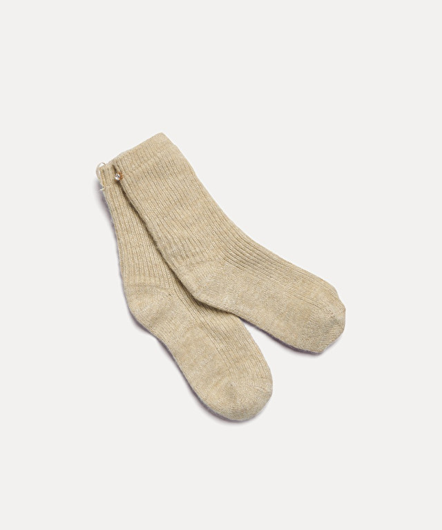 sock with lurex