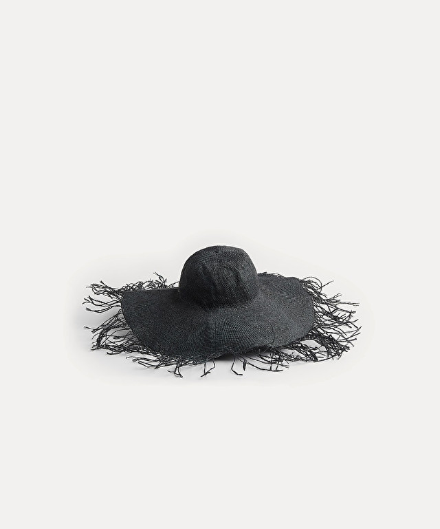 frayed hat