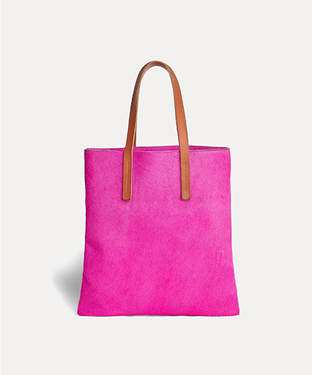 shopper in pony skin