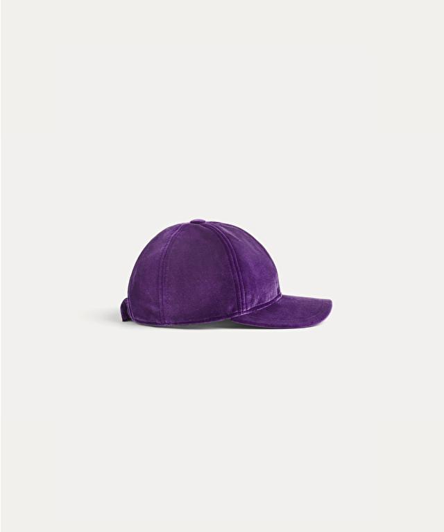 cappello in velluto