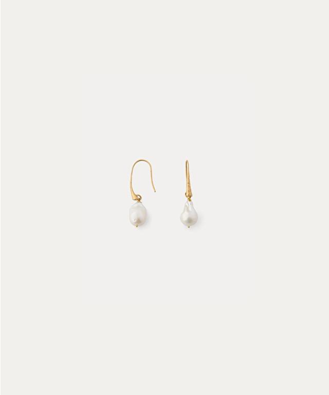 pendants d'oreille avec perles