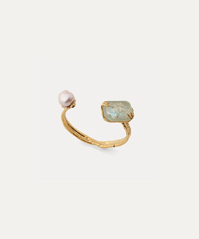 bracelet avec perle et résine