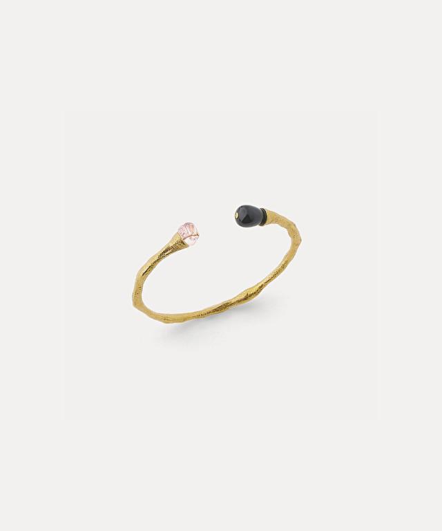 slim bracelet with jewel elements