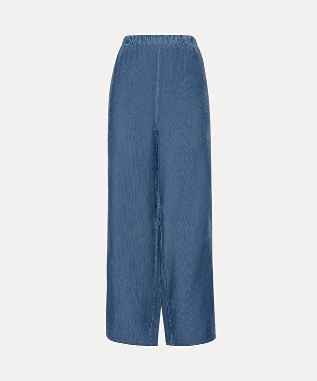 trousers in needlecord with elasticated waist