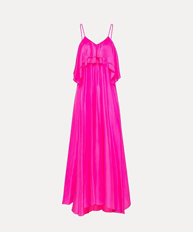 dress in habotai silk